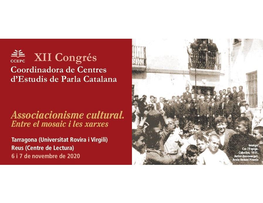 Butlleta d'inscripció del XII Congrés de la CCEPC. Associacionisme ...
